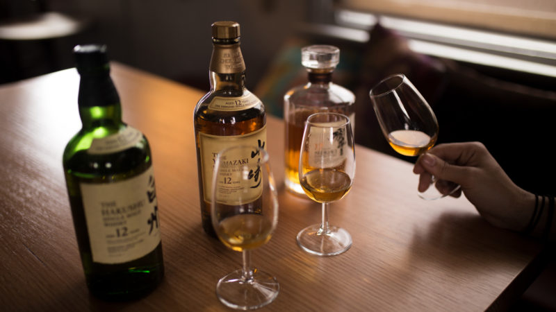 Suntory Whisky Masterclass – hosted by Dan Woolley